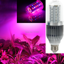 E27 60W 18W 28W 43W 54W SMD High Power LED Grow Light for Flowering Plant and Hydroponics System 85-265V Free Shipping