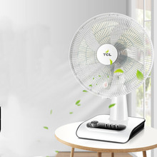 Electric fan home table vertical timing shaking head student dormitory silent floor energy-saving desktop small fan FAN-12 цена