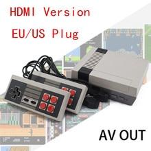 Built-in 600 Games Retro Classic Game Player Mini TV Game Console 8 Bit HD Video Handheld Dual AV Port Mini Gamepad Controls