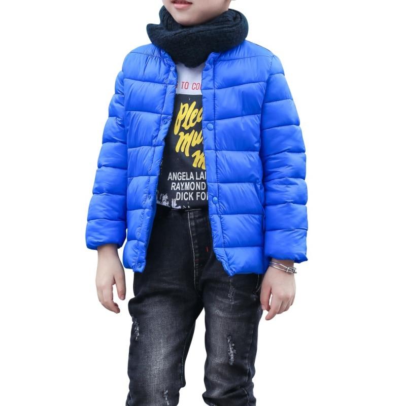 Winter Children Full Sleeve Outerwear Parkas Jacket Parka Snow Wear Girls Boys Toddler Outerwear Coats
