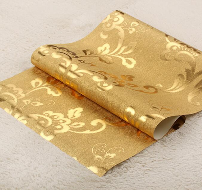 Gold Streifen Tapete-kaufen Billiggold Streifen Tapete Partien Aus ... Wohnzimmer Beige Gold