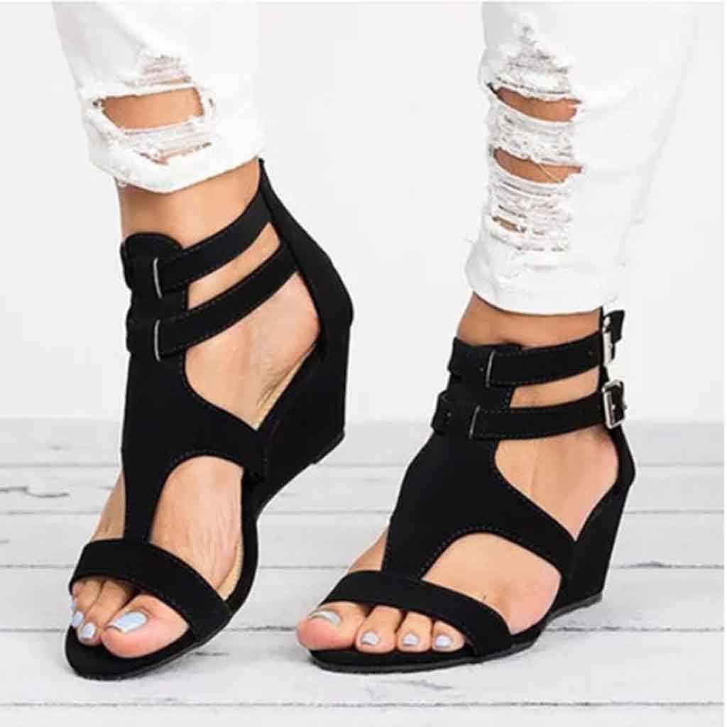 Women Sandals Summer Wedges Gladiator