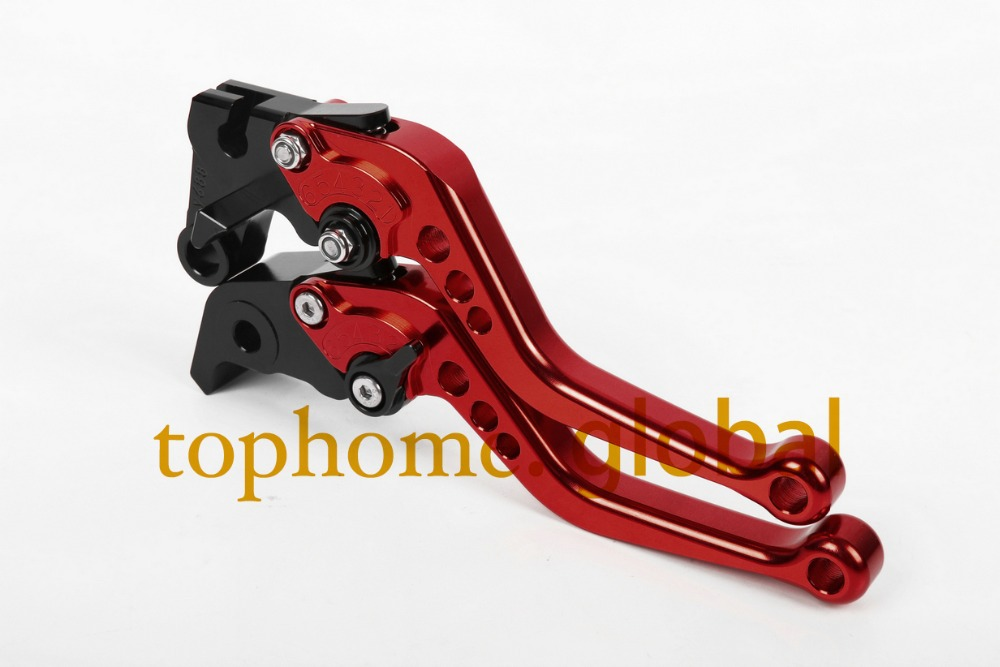 Motorcycle Accessories For Honda CB900 Hornet 2002-2003 2004 2005 2006 Red Handlebar CNC Clutch Brake Levers Short