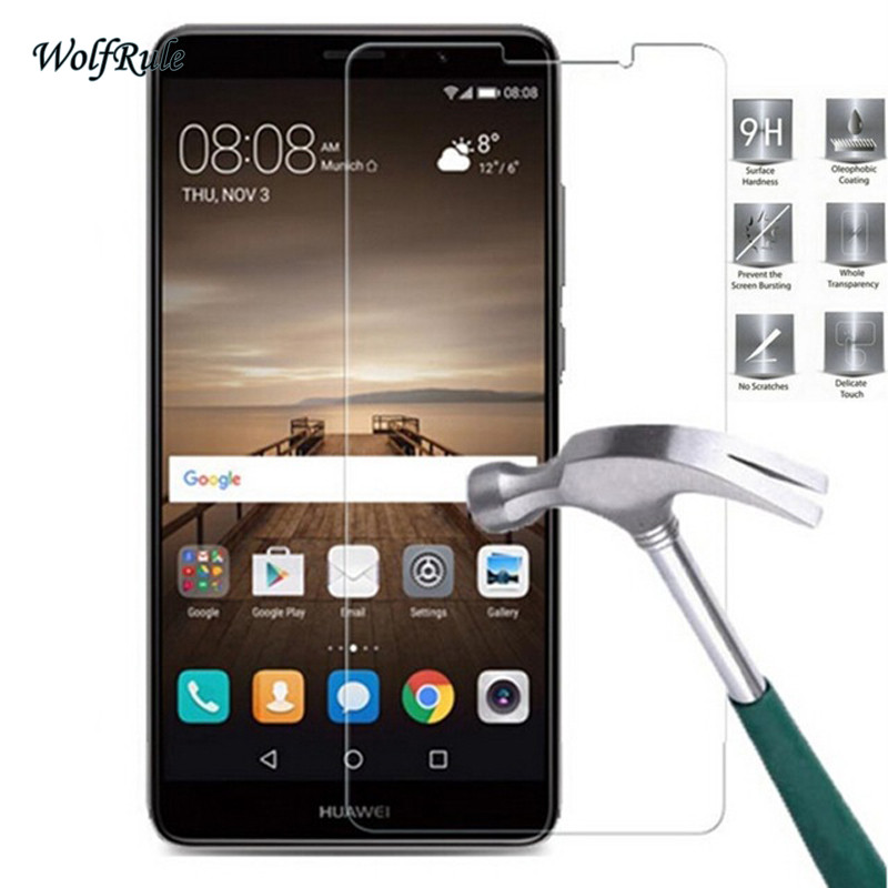 Image 2 - 2PCS Glass For Huawei Mate 9 Screen Protector Tempered Glass For Huawei Mate 9 Glass Phone Film For Huawei Mate9 Anti Scratch-in Phone Screen Protectors from Cellphones & Telecommunications