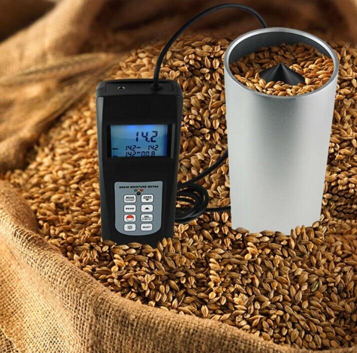 Hygrometers Grain Moisture Meter Tester Range 0-50% Digital  LCD Display Cup Type MC-7828G humidity victor 2gc vc2gc lcd grain moisture meter tester