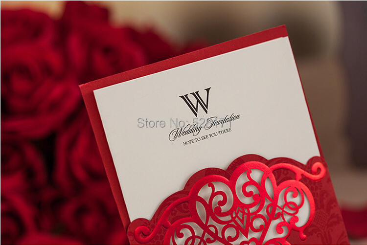 Wedding Invitation Cards Samples Red Yaseen for – Example of Wedding Invitation Cards