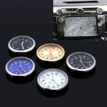 Универсальные автомобильные часы-палочки электронные часы приборной панели Серебристые украшения для SUV автомобили