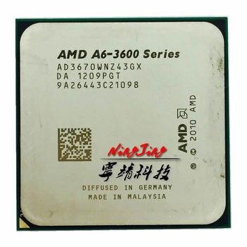 AMD A6-Series A6-3670K A6 3670 k 2,7 GHz Quad-Core CPU procesador AD3670WNZ43GX hembra FM1