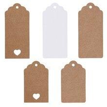50 шт. DIY этикетки из крафт-бумаги винтажные свадебные декоративные бирки гребешок этикетка багаж свадебное украшение для столовый багаж бирки