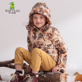 KAMIWA 2017 Tiger Pattern Baby Boys Winter Jackets And CoatsThicken Down Parkas Brand Hooded Children Clothes Kids Clothing