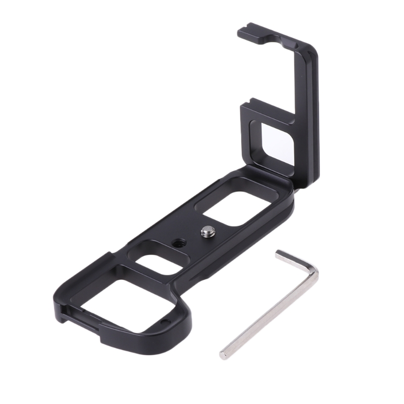 OOTDTY Vertical L Quick Release QR Plate Bracket Hand Grip For Sony A7II / A7m2 / A7RII