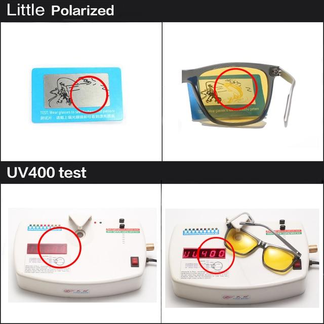2018 Night verision Aluminum Glasses Anti Glare Brand Unisex Retro Vintage Eyewear evening Driving Glasses For Men/Women 4