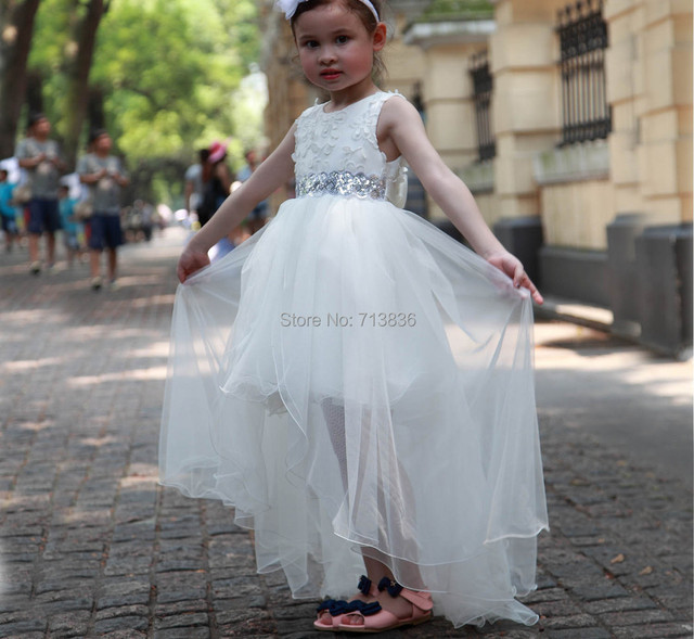 6267d9f6ad5f4 US $2500.0 |[Eleven Story] Girls summer flowers dress baby children shining  clothing kids tulle clothes hot AA409DS 85PO-in Dresses from Mother & Kids  ...