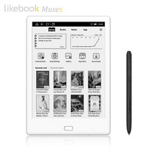 Likebook Muse E-Reader con 7.8 ''300ppi E-Ink Touchscreen 8 Core da 1.5 GHz, built-in Acustico, 2G/32 GB Android Sistema 6.0(China)