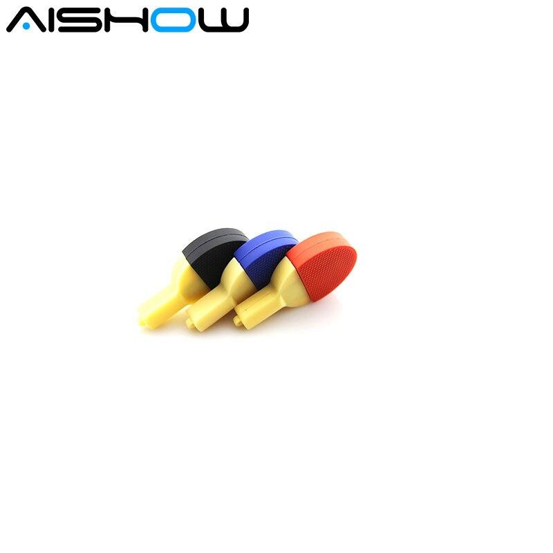 mini pen drive table tennis racket gift pen drive 8gb 16gb 32gb 64gb cartoon usb flash drive pendrive