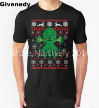 Cthulhu Ugly Christmas Sweater Mens & Womens Printing T shirt Comfortable T Shirt