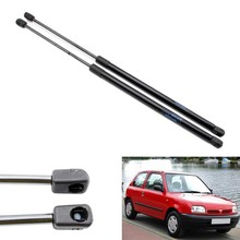 2pcs Auto Tailgate Boot Gas Struts Car Lift Support for Nissan Micra March K11 1992-2002 for Nissan Verita Hatchback 550 mm