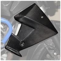 Carbon Fibre fiber Radiator Side Panels Protector Cover Fairing For Yamaha MT 07 FZ7 FZ 07 MT 07 2013 2014 2015 2016 2017 2018
