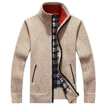 Winter Warm Cashmere Wool Zipper jackets