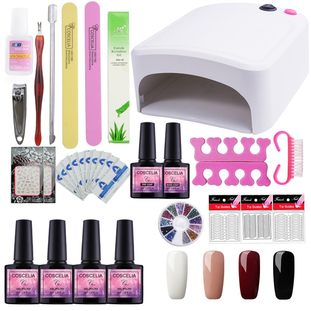 Led Lamp Nail Kit