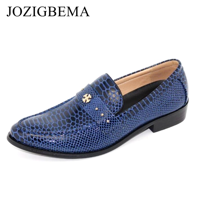 Business Blue Mocassins Chaussures style britannique Chaussures Doug hommes fCL4omT