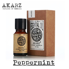 AKARZ Famous brand pure natural aromatherapy peppermint oil Moisten throat remove halitosis Relieve itching Relax Sleeping