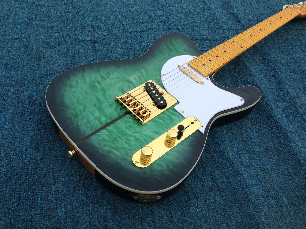 New style Merle Haggard signature TL electric guitar Tuff Dog electric guitar gold hardware made in korean