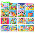 20 Designs/lot 13*17cm 3D Eva Foam Craft Sticker Self-adhesive Crafts Learning Education Toys for Kids 3-6 years Series HF