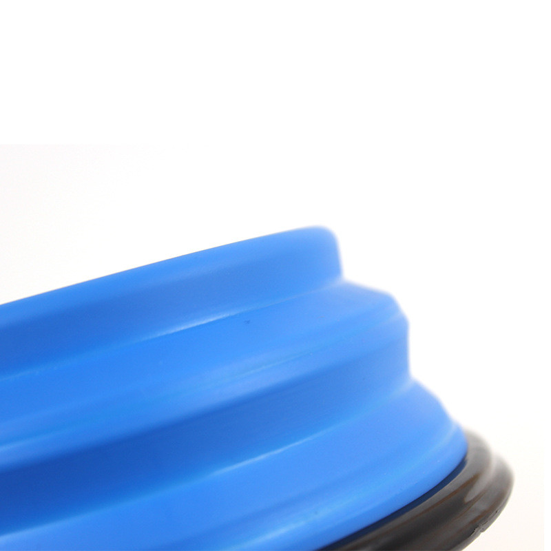 Collapsible Silicone Pet Food Bowl Portable Outdoor Travel Dog Food Container Water Drinking Bowl Dish Pet Feeding Accessories 8