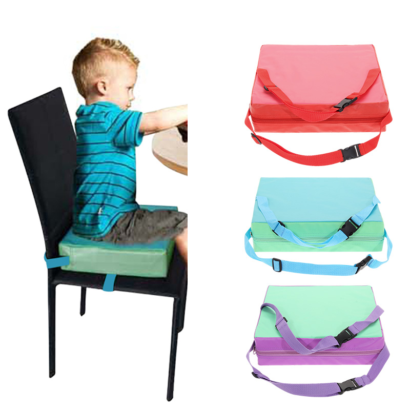 Children Increased Chair Pad Baby Dining Cushion Adjustable Removable Highchair Chair Booster Cushion Seat Chair For Baby