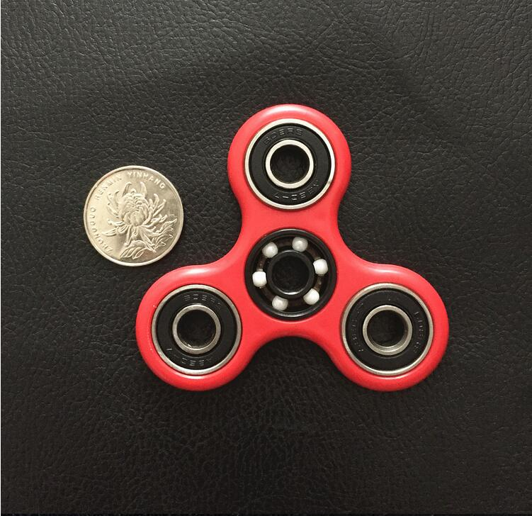 Anti Stress Toys Hand Spinner Fidget Toy Mute High Speed ABS Anti-stress Tri-Spinners Novelty Gifts for Adults Kids Wood Puzzles