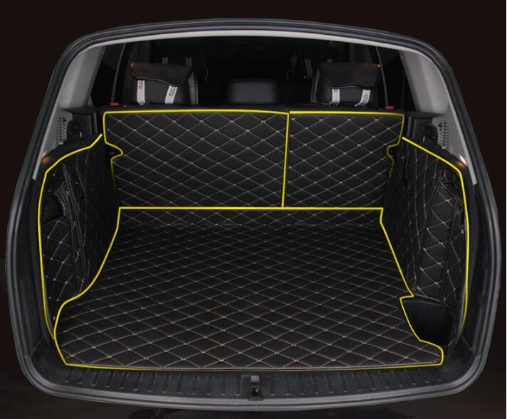 Jioyng полный задний багажник кассетного Коврики Этаж протектор ног Pad Коврики для BMW X3 F25 2011 2012 2013 2014 2015 2016 (5 цветов)