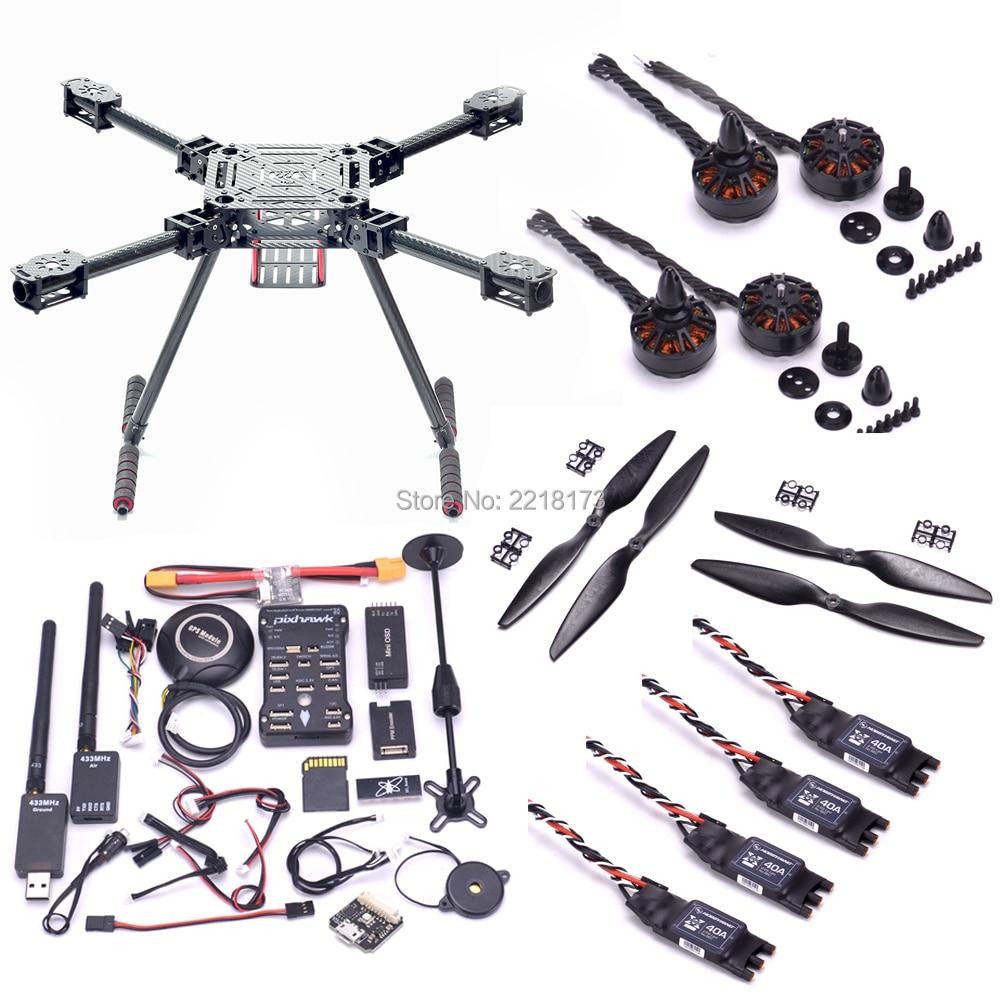 ZD550 550mm Carbon fiber Quadcopter Frame FPV Pixhawk 2.4.8 / Naze M lite Controller M8N 3508 580kv motor Hobbywing 40A ESC 1245 zd850 full carbon fiber 850mm hexa rotor frame pix pixhawk 2 4 8 flight comtrol 5010 360kv motor 40a brushless opto esc set