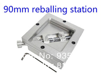 Free Shipping 90 90mm Bga Reballing Station Universal Bga Solder Station Reball Station For Bga Rework
