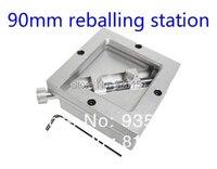 Free Shipping 90 90mm Bga Reballing Station Universal Bga Solder Station Reball Station For Bga Rework