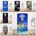 Роскошные Печати Телефон Case для LG G4 Note G Stylo G4 Стилус LS770 Кремния Вернуться Case Мягкие TPU Крышка для LG G4 Note LS770 мешок