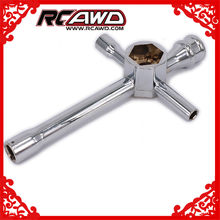 RCAWD Cross Wrench Wheel Wrench Grote Mini Voor RC Model Auto Repareren 7mm 8mm 10mm 12mm 17mm Of 4mm 4.5mm 5.5mm 7mm(China)