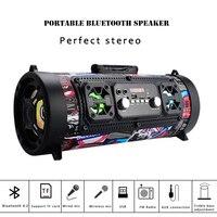 Hifi Portable Speaker Bluetooth 15W wireless speaker TV soundbar music Column subwoofer Hip hop boombox for xiaomi huawei iphone