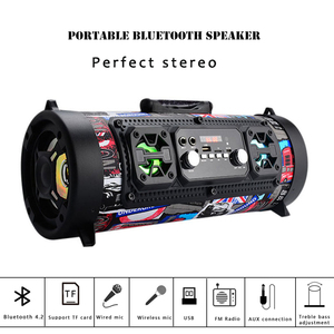 Hifi Portable Speaker Bluetooth 15W wire
