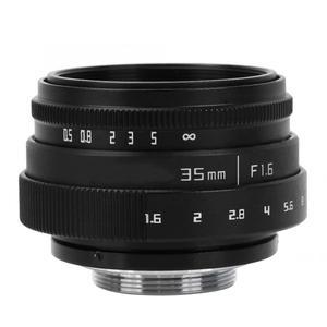 Image 3 - 35mm F1.6 CCTV C góra duża przysłona obiektyw do Sony NEX M4/3 FX adapter obiektywu f/1.6 maksymalna przysłona mikro pojedyncza soczewka