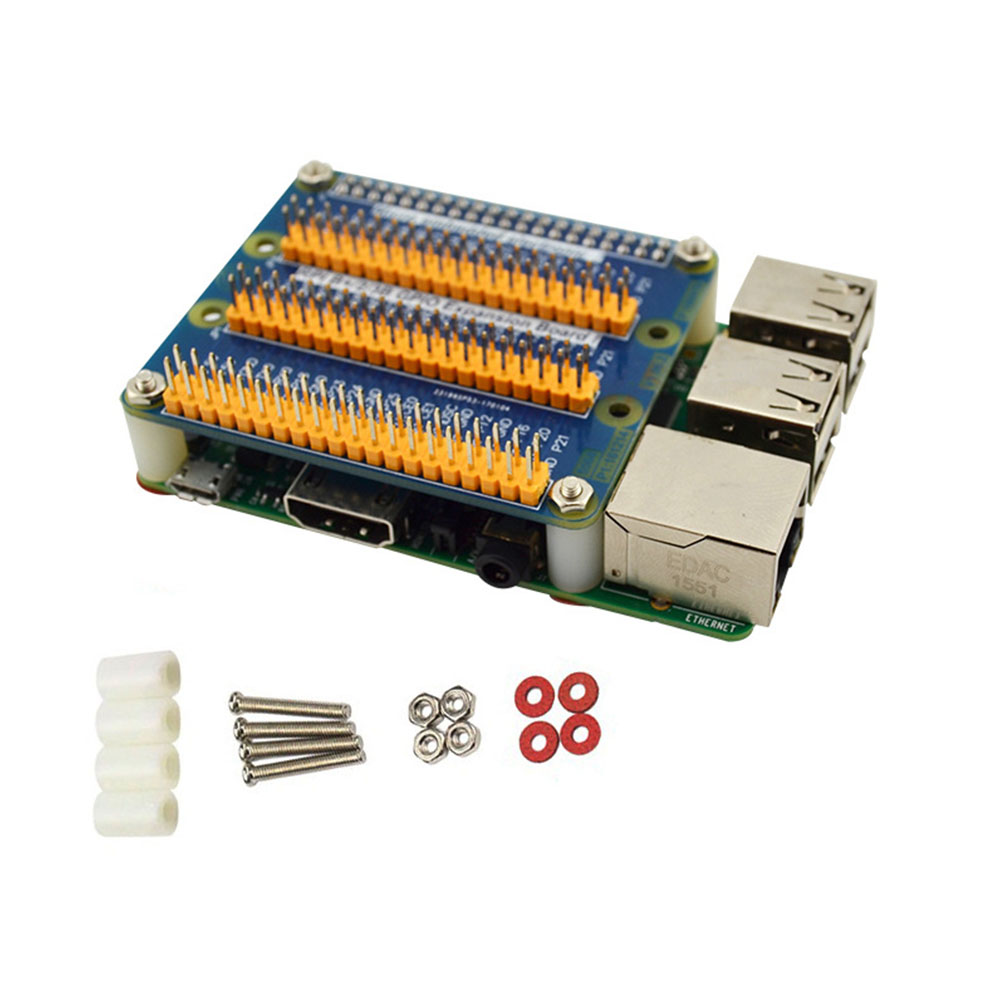 Accessories Replacement Control Multifunction GPIO With Screws Storage Professional Expansion Board Component For Raspberry Pi 3