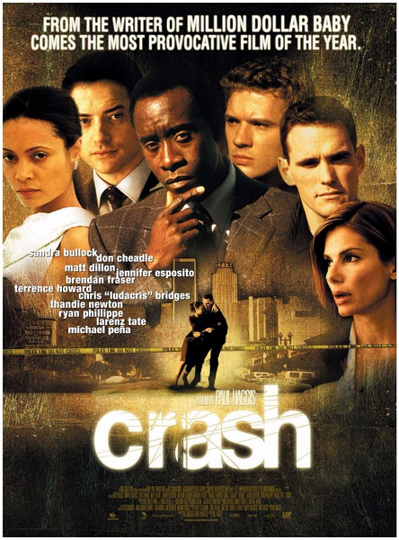 Crash (2004) Vintage movie poster 24x36 inch 01 image