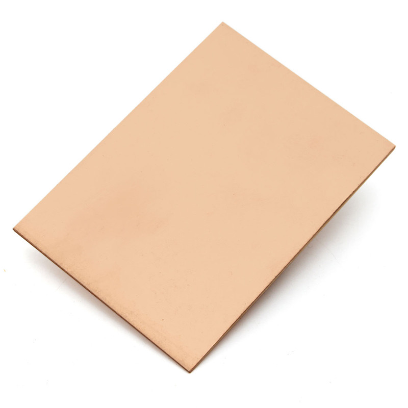 Hot Sale 10pcs FR4 PCB Single Side Copper Clad plate DIY PCB Kit Laminate Circuit Board 7x10cm Best Price Low Price universal single sided pcb copper clad board for diy 10 piece pack