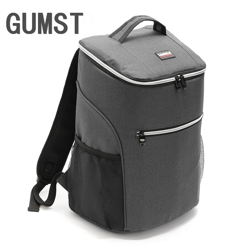 GUMST 20L Backpack Cooler bag Picnic coolbag thermal insulation bags Food Backpack Thermal bag thermo ThermaBag refrigerator image