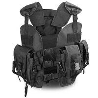 Outdoor Huntting Vest Camouflage Seal Vest For Men Hunting Game Outdoor Sport Vest With Water Bag