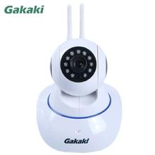 Gakaki 720P Network Surveillance Camera HD Wireless Security IP Camera IR Night Vision  Indoor Home CCTV Wifi Function Onvif Cam