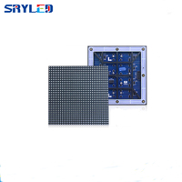 outdoor led module p6 SMD full color led panel board 32*32 pixel 1/8 scan high brightness for outdoor led cabinet led scoreboard