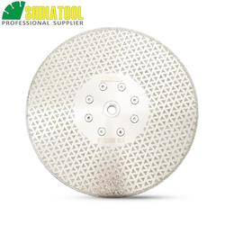 DIATOOL 9 /230mm galvani diamant schneiden und schleifscheiben für granit und marmor