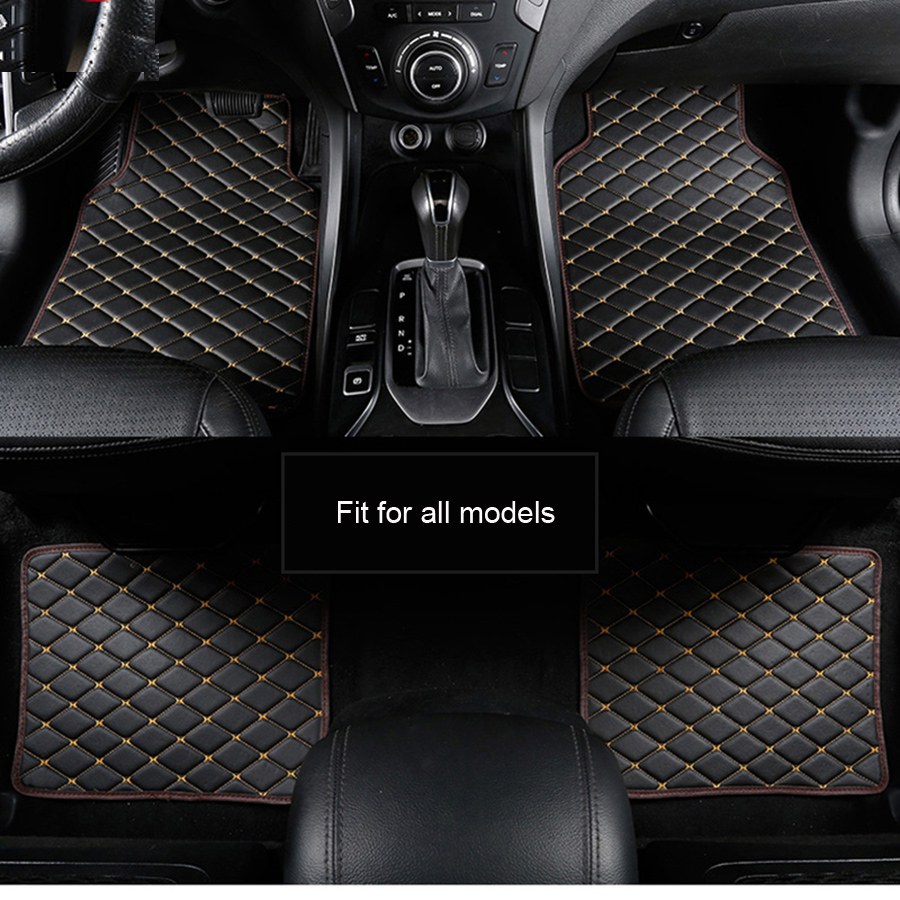 BMW 1 SERIES 1M M1 Universal Heavy Duty Waterproof Rubber Floor Mats