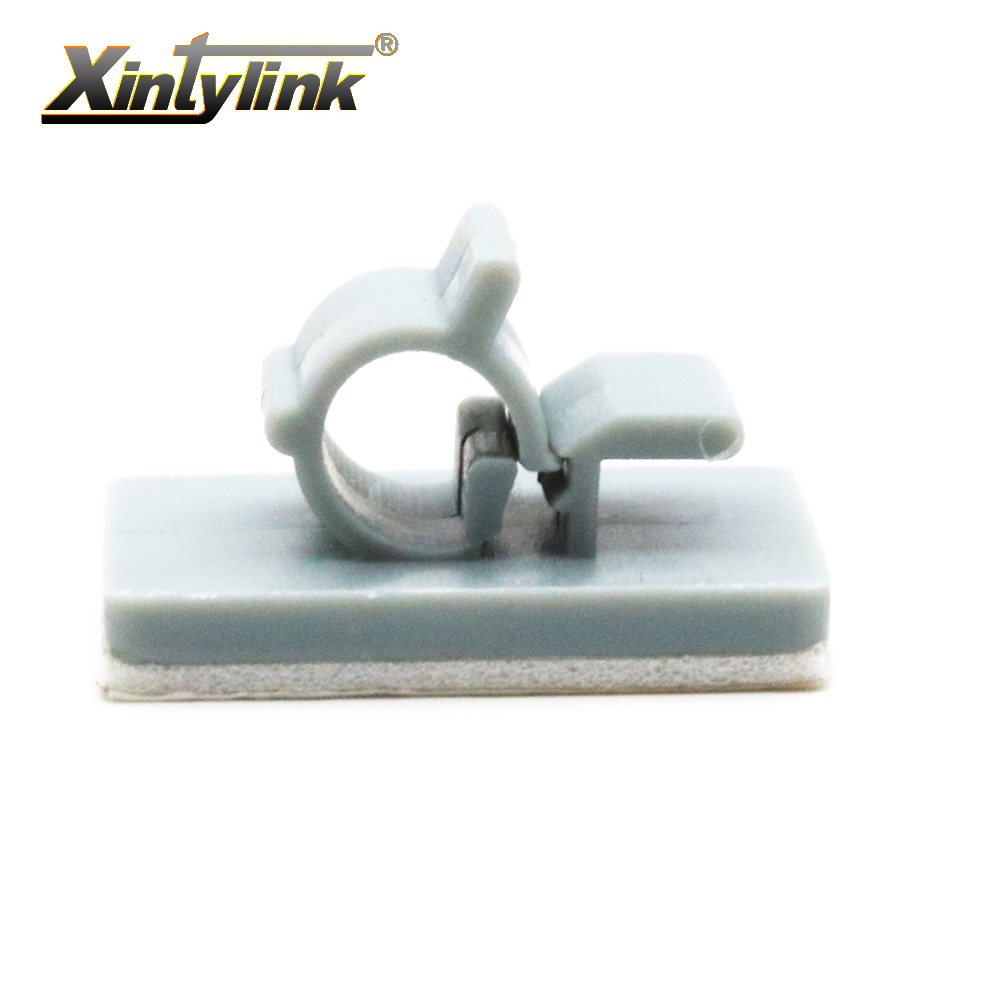 Popular 3m cable ties buy cheap 3m cable ties lots from china 3m cable - Xintylink 30pcs Lot 1 4 Pipe Fixed Seat Clip 3m Adhesive For Wire